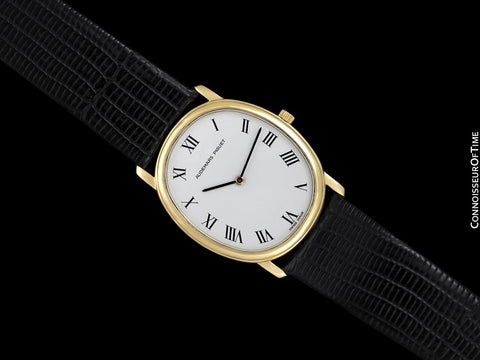 Audemars Piguet Golden Ellipse Mens Ultra Thin Handwound Watch - 18K Gold