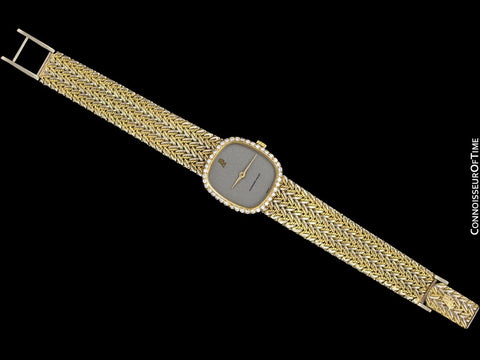 Audemars Piguet Rare & Exquisite Ladies Two-Tone Bracelet Watch - 18K Yellow & White Gold & Diamonds