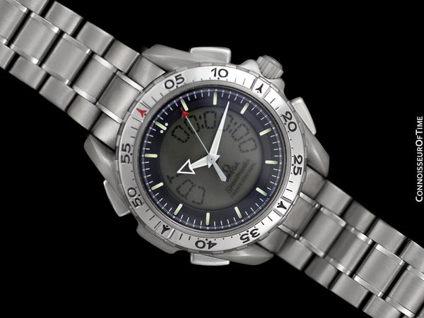 Omega Speedmaster X-33 Digital NASA Pilot's Chronograph Titanium Watch, 3290.50.00 - Papers