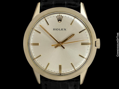 1974 Rolex Perpetual Vintage Mens 14K Gold Filled Watch in Beautiful Condition - Box, Papers & Receipt