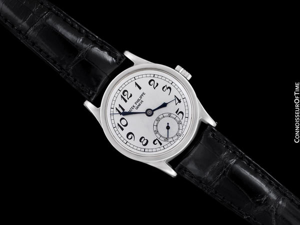 1936 Patek Philippe Vintage Calatrava Ref. 96 Mens Watch, Stainless Steel with Extract - The Original
