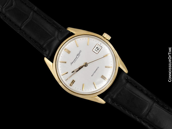 1966 IWC Vintage Mens Full Size Watch, Cal. 8541 Automatic - 18K Gold