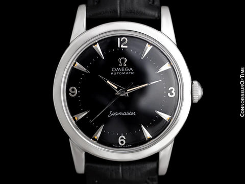 1951 Omega Seamaster Vintage Mens Automatic Cal. 351 Calatrava Watch - Stainless Steel