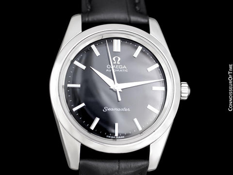 1962 Omega Seamaster Vintage Mens Automatic Cal. 552 Full Size Calatrava Watch - Stainless Steel