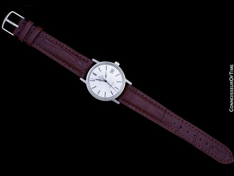 1976 Omega Geneve Vintage Mens Automatic Stainless Steel Watch - Papers