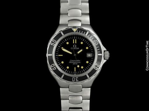 1995 Omega Seamaster 200M Pre-Bond Dive Watch, Date - Stainless Steel
