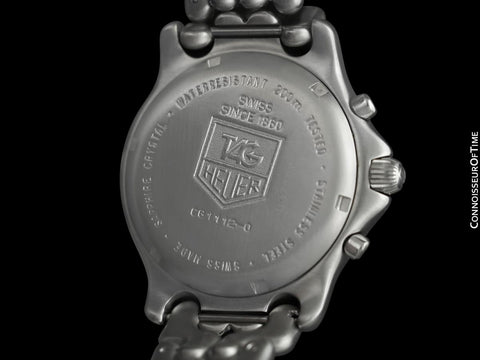 TAG Heuer Professional SEL Sport Elegance Mens Chronograph Diver Watch - Stainless Steel