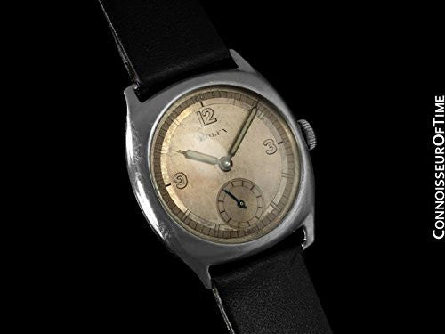 1920's Rolex Art Deco Vintage Mens Midsize Watch - Stainless Steel