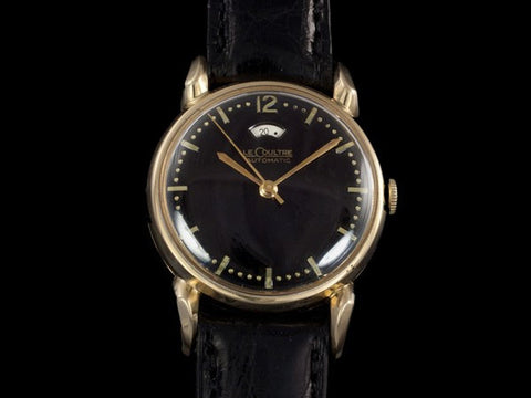 1953 Jaeger-LeCoultre Vintage Mens Powermatic Power Reserve Watch - 14K Gold