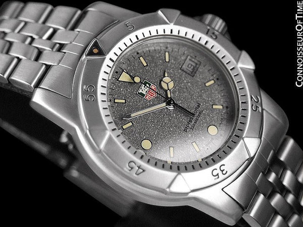Tag Heuer Professional 1500 Mens Diver Granite Dial Watch - Stainless Steel - 959.713G