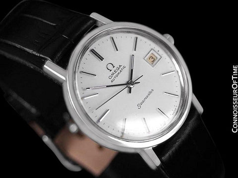 1978 Omega Vintage Seamaster Mens Watch, Automatic, Date - Stainless Steel