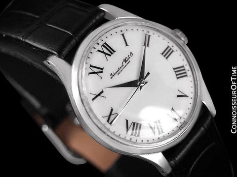 1958 IWC Vintage Mens Watch, Cal. 853 Automatic - Stainless Steel