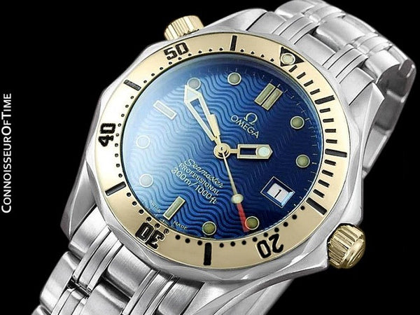 Omega Seamaster Midsize 300M Professional Diver (James Bond), Stainless Steel & 18K Gold