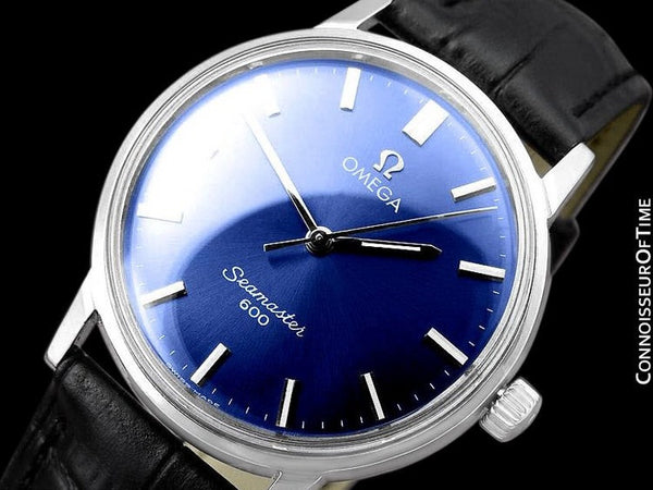 1968 Omega Seamaster 600 Vintage Mens Handwound Watch - Stainless Steel
