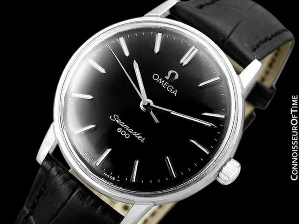 1970 Omega Seamaster 600 Vintage Mens Handwound Watch - Stainless Steel