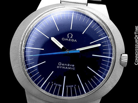 1960's Omega Dynamic Vintage Mens Handwound Watch - Stainless Steel