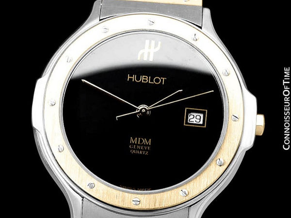 Hublot MDM Two-Tone Midsize Mens Watch - Stainless Steel and 18K Gold