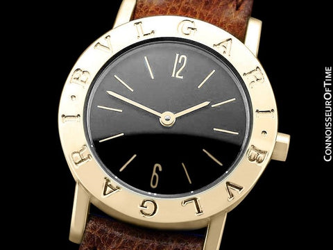 Bvlgari Bvlgari (Bulgari) Ladies Quartz Watch, BB 26 GL - 18K Gold
