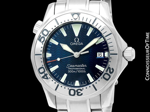 Omega Seamaster Midsize 300M Professional Diver (James Bond Style), Stainless Steel - 2562.80.00