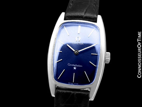 1973 Omega Constellation Chronometer Vintage Ladies Watch - Stainless Steel