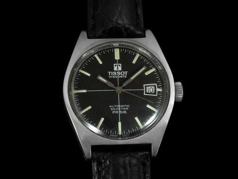 1960's Tissot Visodate Seastar PR516 Divers Watch, Automatic, Waterproof - Stainless Steel