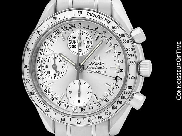 Omega Speedmaster Mens Triple Date Chronograph Automatic Watch, 3523.30 - Stainless Steel