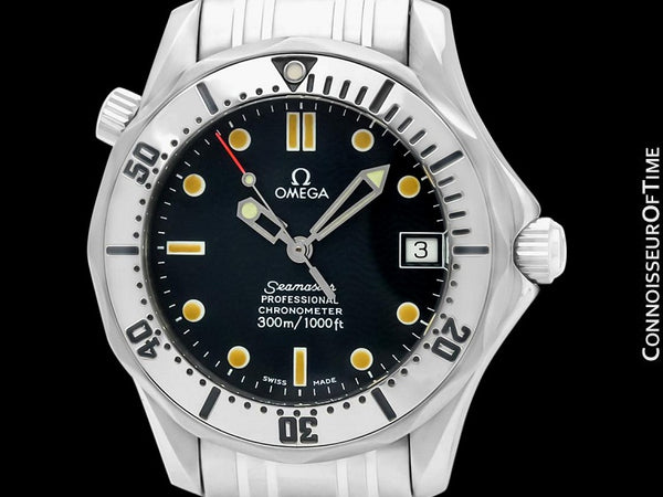 Omega Seamaster 300M Mens Professional Diver (James Bond Style) Automatic Chronometer Watch, Stainless Steel - 2552.80