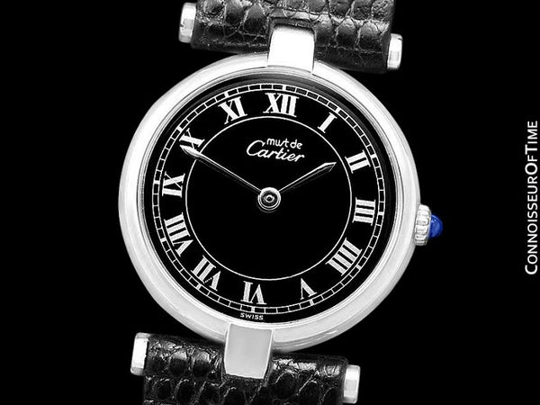 Must De Cartier Vendome Ladies Watch - Sterling Silver