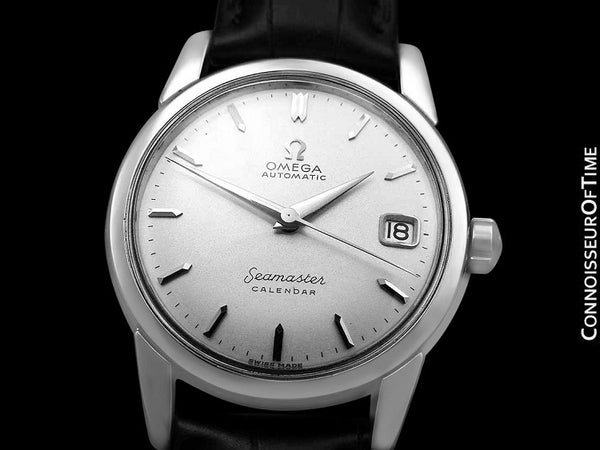 1957 Omega Seamaster Calendar Vintage Mens Cal. 503 Automatic Watch - Stainless Steel