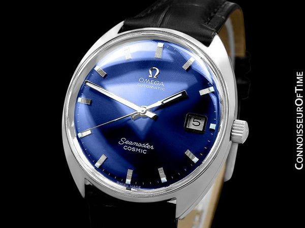 c. 1969 Omega Seamaster Cosmic Vintage Mens Cal. 565 Automatic Watch - Stainless Steel