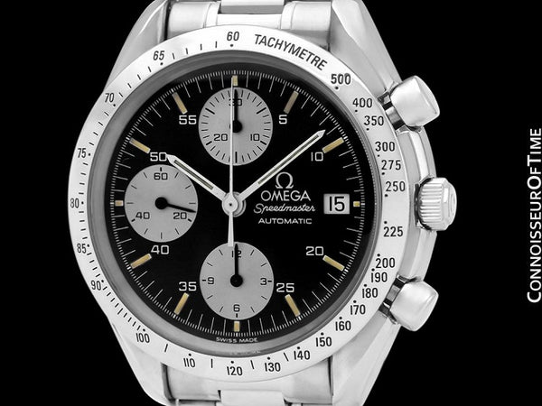 Omega Speedmaster Classic Vintage Automatic Chronograph Mens Watch, Panda Dial, 3511.80 - Stainless Steel