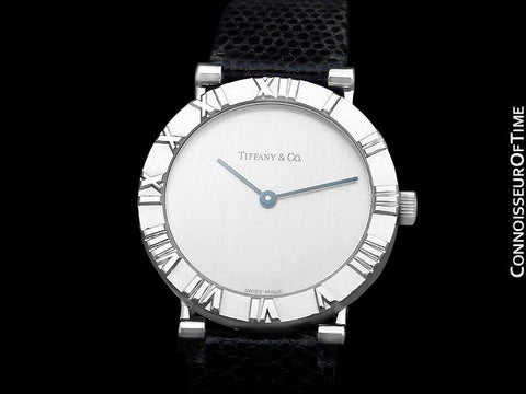Tiffany & Co. Atlas Mens Midsize Unisex Watch - Sterling Silver