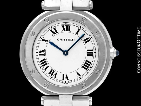 Cartier Santos Vendome Mens Midsize Unisex Watch - Stainless Steel