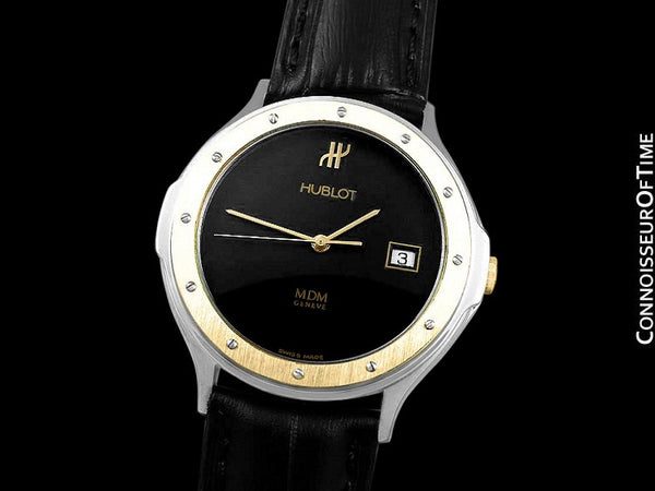 Hublot MDM 2-Tone Full Size 36mm Mens Stainless Steel & 18K Gold Watch