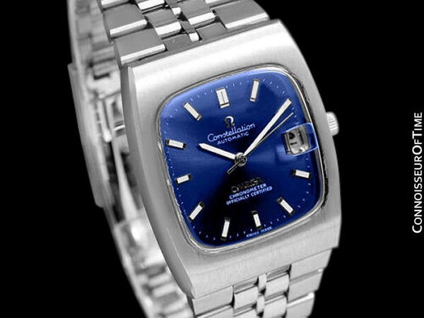 1971 Omega Constellation Mens Automatic Chronometer Watch - Stainless Steel