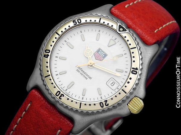 TAG Heuer Professional SEL Sport Elegance Mens Midsize Diver Watch - Stainless Steel & 18K Gold Plated