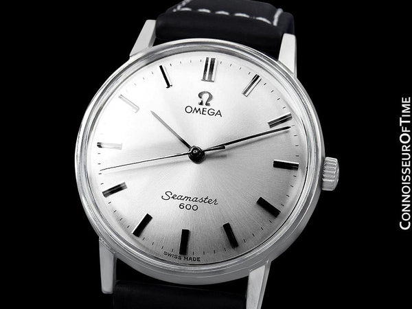 1962 Omega Seamaster 600 Vintage Mens Handwound Watch - Stainless Steel