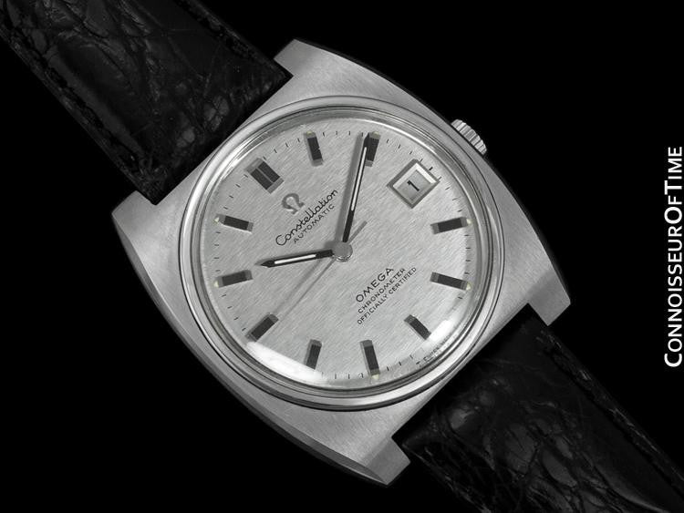 1969 omega constellation vintage mens watch automatic date 1969 omega constellation vintage mens watch automatic date stainless steel