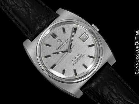 1969 Omega Constellation Vintage Mens Watch,  Automatic, Date - Stainless Steel