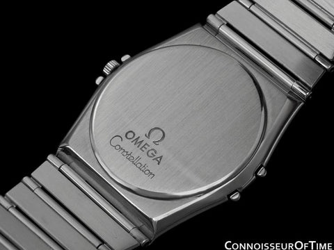 Omega Constellation Mens 35mm Watch, Quartz, Day-Date - Stainless Steel