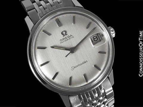 1966 Omega Seamaster Vintage Mens Caliber 563 Watch, Automatic - Stainless Steel