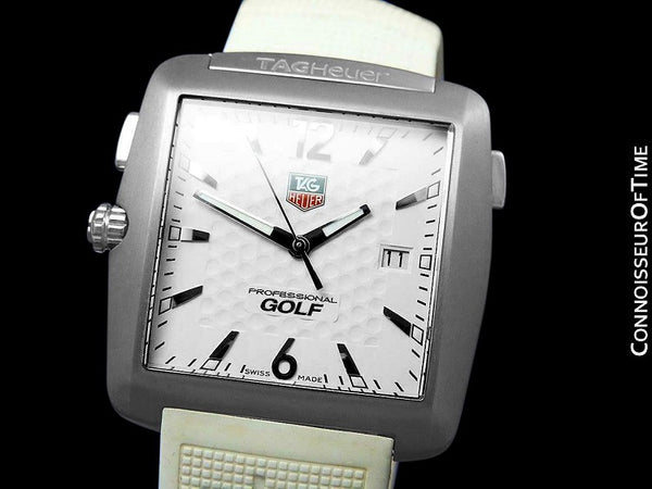 TAG Heuer Tiger Woods Mens Titanium Golf Sports Watch - WAE1112