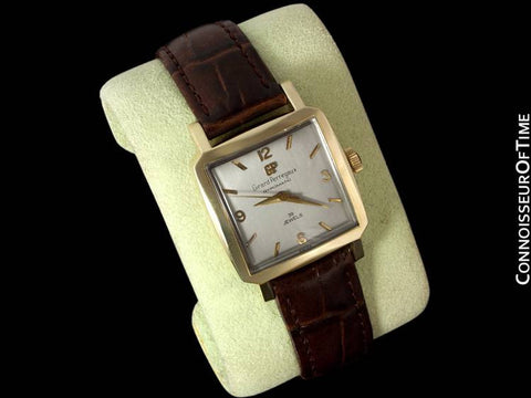 1950's Girard Perregaux Gyromatic, Square, 14K Gold Filled - Automatic, Waterproof