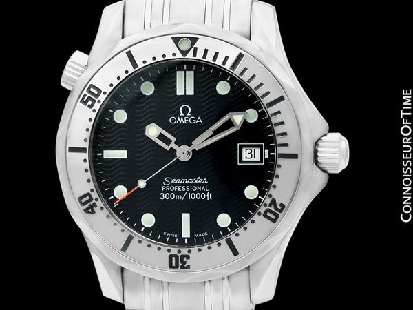 Omega Seamaster Midsize 300M Professional Divers (James Bond Style) Watch, Stainless Steel - 2562.80.00