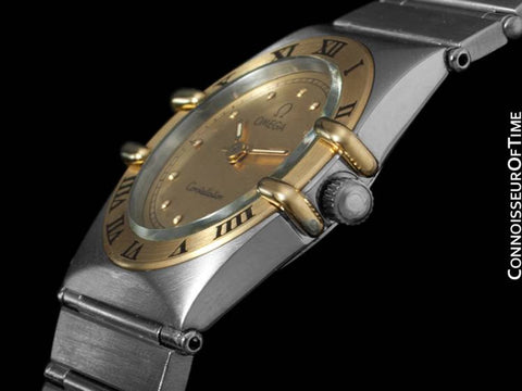 Omega Ladies Constellation Mini 22mm Watch - Stainless Steel & 18K Gold