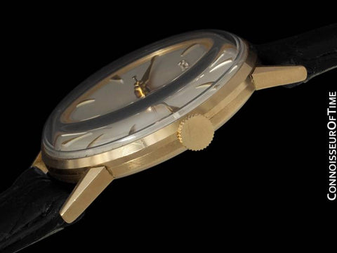 1959 Rolex Precision Vintage Mens Dress Watch - 18K Gold