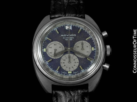 1970 Movado Datron HS 360 Sub Sea Chronograph with (Zenith) El Primero Movement - Stainless Steel