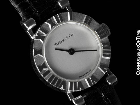Tiffany & Co. Ladies Atlas Watch - Sterling Silver