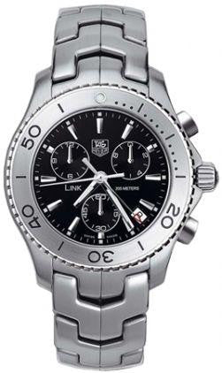 Tag Heuer Link Mens Quartz Chronograph, Stainless Steel - CJ1110.BA0576