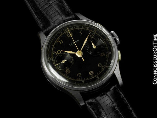 1940's Swiss Vintage Professional & Sporting Telemeter Mens Chronograph Watch